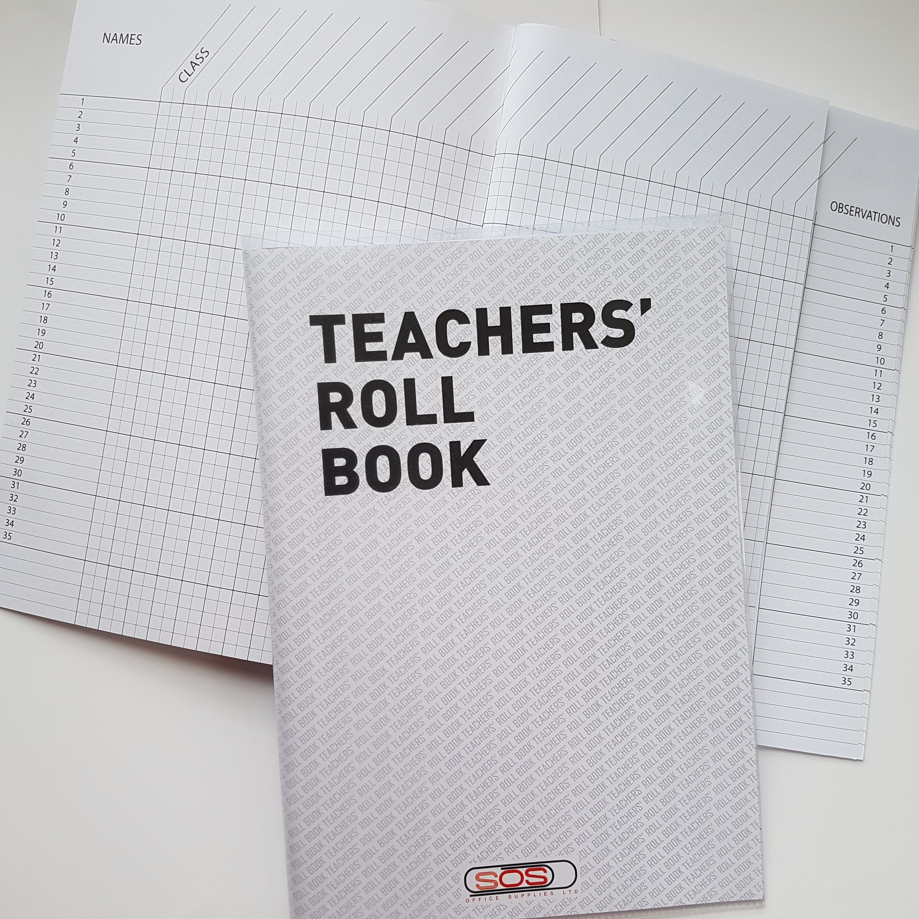Teachers Roll Book & Covers
